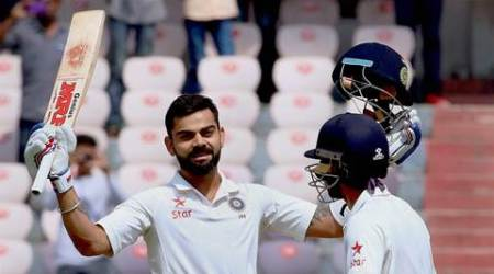 Virat Kohli double century leaves Bangladesh high and dry at Hyderabad