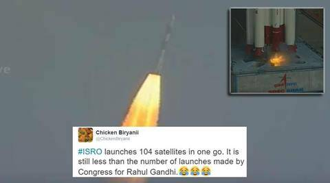 ISRO, ISRO satellite launch, ISRO rocket launch, ISRO launch, ISRO launch live, ISRO rocket launch live, ISRO live, isro satellite, isro new, isro rocket launch today, isro, pslv-37, isro pslv 37, isro 104 sattelites, isro 104 sattelites pslv, isro 104 sattelites twitter reactions, indian express, indian express news, trending in india, trending globally