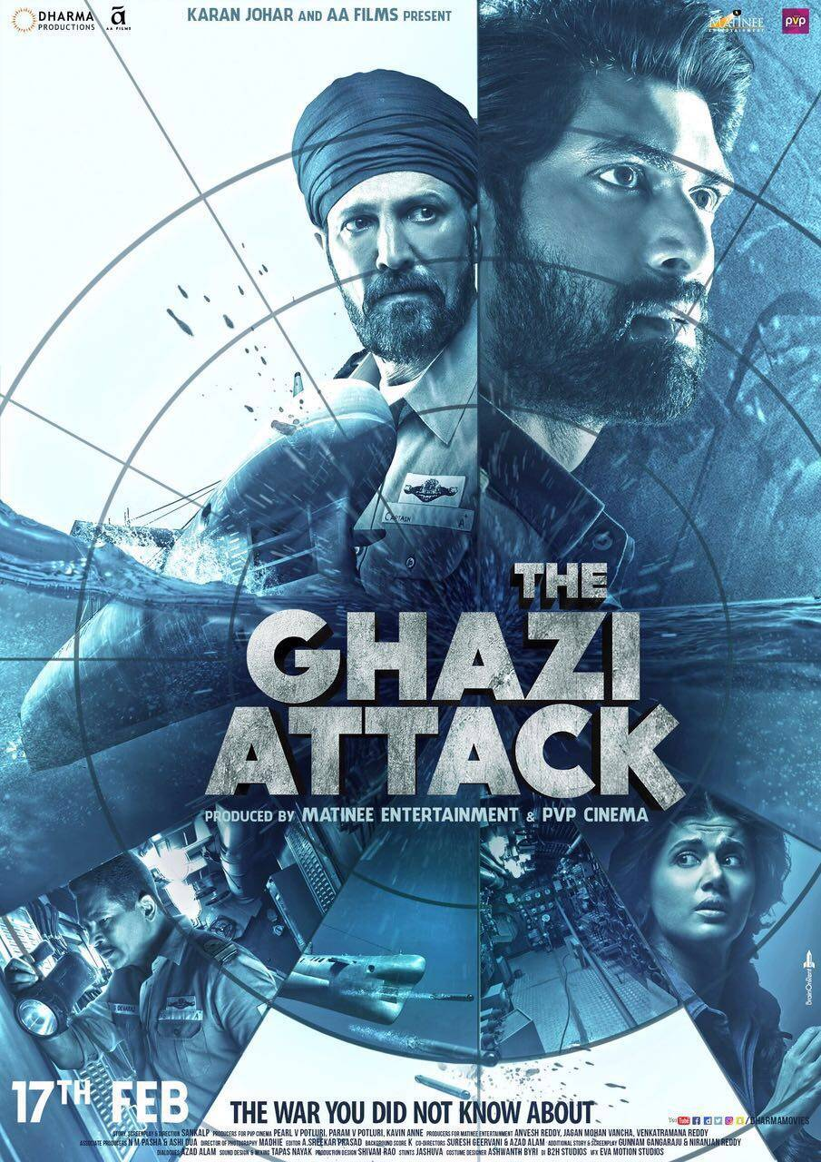 The Ghazi Attack review, The Ghazi Attack Movie review, The Ghazi Attack movie, The Ghazi Attack release, rana daggubati, taapsee pannu, Kay Kay Menon