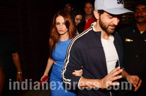Sussanne Khan can't let go of Hrithik Roshan. Why can't they just be back together?