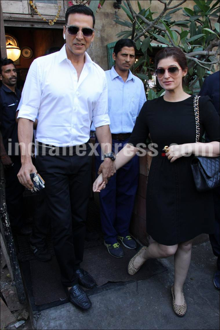 Akshay Kumar, Twinkle Khanna, Akshay Kumar Twinkle Khanna, Jolly LLB 2, akshay Twinkle, Jolly LLB 2 collections, Jolly LLB 2 success party, akshay Twinkle pics, akshay Twinkle lunch date
