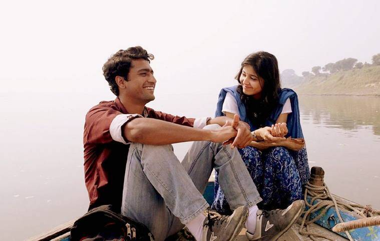 Vicky Kaushal and Shweta Tripathi in Masaan cannes
