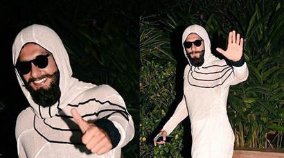 Before Ranveer Singh dressed as a condom, he wore these 'what-on-earth-are-these' clothes too