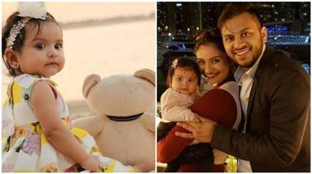 Cuteness alert! Dimpy Ganguly's daughter Reanna parties with neighbours and pictures are beyondadorable