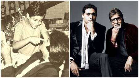 Happy Birthday Abhishek Bachchan: Amitabh Bachchan gives throwback to son's 12th birthday, Bollywood sends warm wishes