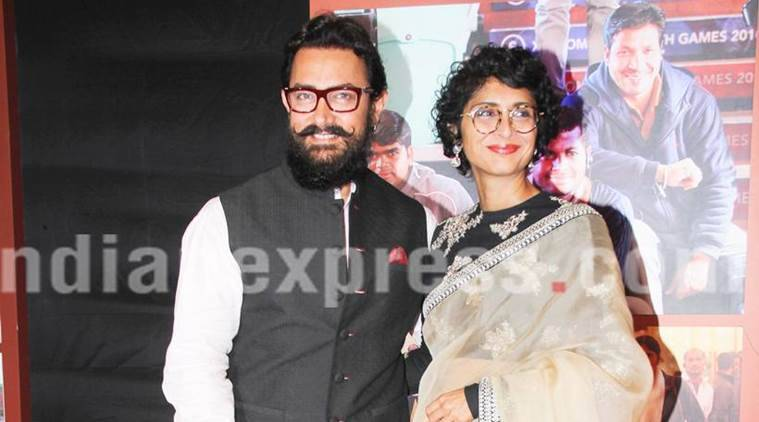 kiran rao, aamir khan kiran rao, aamir khan thugs of hindostan, aamir khan thugs of hindostan look, aamir khan beard, kiran rao aamir khan beard, thugs of hindostan release date, thugs of hindostan shooting, aamir khan, aamir khan fit, bollywood news, bollywood updates, entertainment news, indian express news, indian express