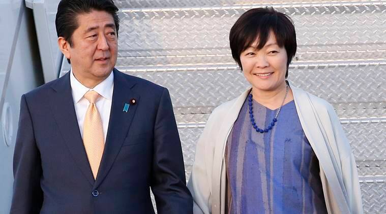 shinzo abe news, aki abe news, india news, indian express news