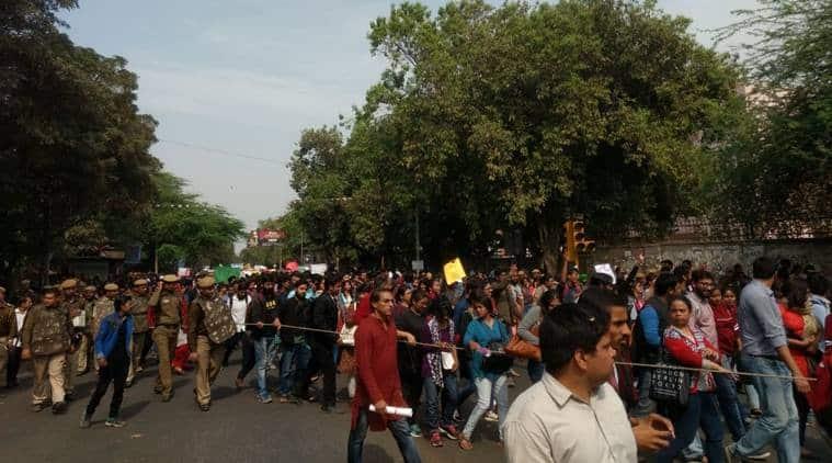 ABVP, Ramjas college, Ramjas college clash, ABVP clash, Ramjas protest, Gurmehar Kaur, Ramjas college violence, campus politics, delhi university, Gurmehar Kaur, india news