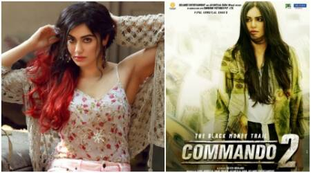 Commando 2 is the most commercial and entertaining role of my career: Adah Sharma