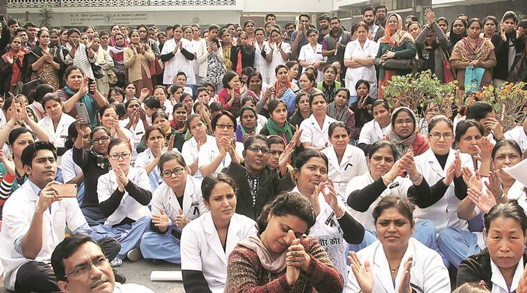 Nurse death: 5 AIIMS docs suspended; colleagues warn of strike