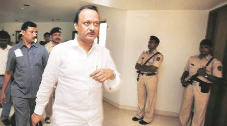 Ajit Pawar gets a taste of Pune's traffic jam, rides pillion