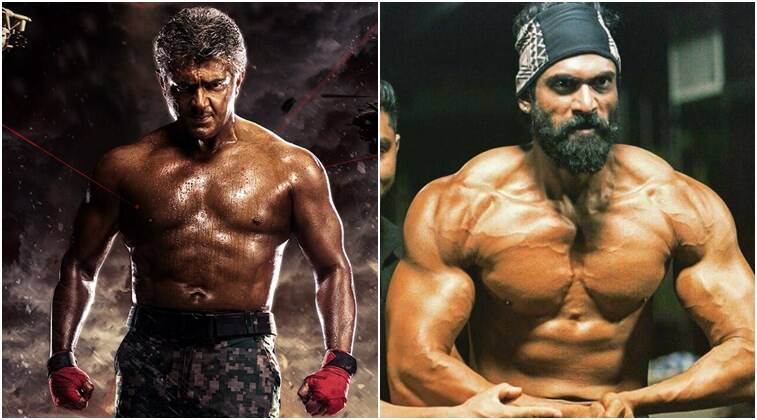 Vivegam ajiths six pack abs leave rana daggubati dhanush inspired vivegam ajith ajith first look ajith vivegam ajith poster vivegam ajith thecheapjerseys Images