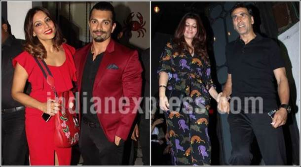 Akshay Kumar-Twinkle Khanna had a dinner date on Valentine's Day. But why's Deepika Padukone alone?