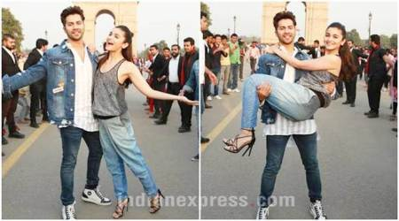 Badrinath Ki Dulhania in Delhi: Fans go crazy as Alia Bhatt, Varun Dhawan dance on title track