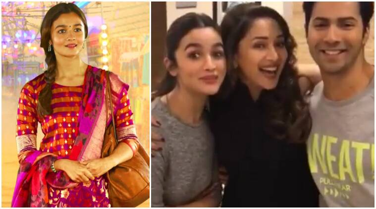 tamma tamma again, badrinath ki dulhania, alia bhatt tamma tamma, alia bhatt madhuri dixit, alia bhatt varun dhawan tamma tamma, madhuri dixit tamma tamma, badrinath ki dulhania songs, tamma tamma video, tamma tamma video song, alia bhatt scared madhuri dixit, madhuri dixit alia bhatt, badrinath ki dulhania release date, tamma tamma again launch, bollywood movies, bollywood news, bollywood updates, bollywood news, entertainment news, indian express, indian express news