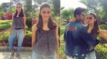 Redefining casuals: Alia Bhatt looks sweet in an ombré printed jumpsuit