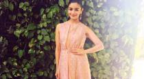 Pastel love: Alia Bhatt dazzles in an Anita Dongre dress