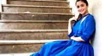 Alia Bhatt looks too cute in this cool blue dress for Badrinath Ki Dulhaniya promos