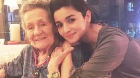 Alia Bhatt,Alia Bhatt grandmother,Alia Bhatt grandmother birthday