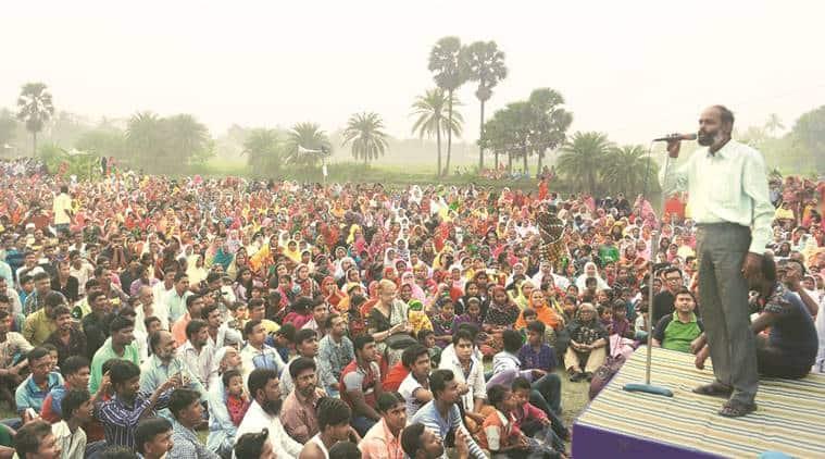 Bhangar agitation, Bhangar violence, land violence, land agitation, kolkata land agitation, indian express news, india news