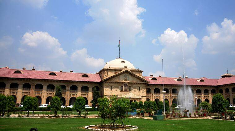allhabad high court, allahabad school, allahabad govt school, allahabad school amenities, india news, indian express news
