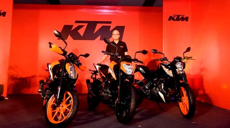 KTM bikes, KTM 390, KTM 200, KTM 250, KTM launches 3 bikes, KTM Duke comparison, bikes, bike comparison, auto mobile