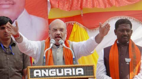 Amit shah, Uttar pradesh assembly elections 2017, UP polls, UP elections, election campaign, sangh parivaar, BJP, UP BJP, congress, Samajwadi party, sp, BSP, akhilesh yadav, mulayam singh yadav, rahul gandhi, up news, india news, indian express news
