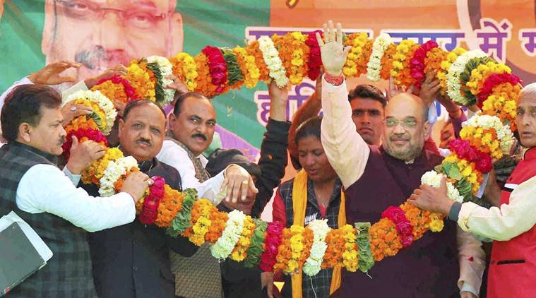 Amit Shah, BJP, UP, Uttar Pradesh news, India news, UP polls, UP polls AMit Shah, Amit Shah rally, UP news