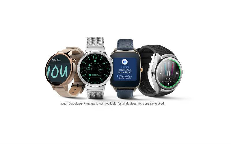 Android Wear 2.0, SA-bound watches revealed