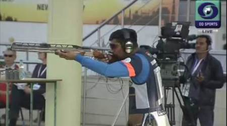 Ankur Mittal's tally of 74 points was way ahead of third placed James Dedman (56 points) from Great Britain. (Source: Twitter)