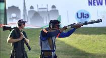 Shooting WC: Mittal wins silver medal, but trap is set