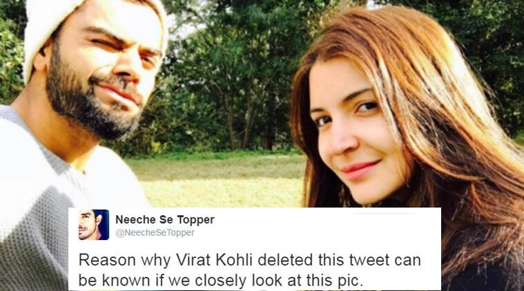 Virat Kohli wished Anushka Sharma in the sweetest way possible