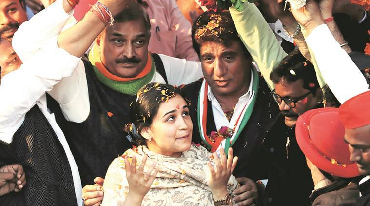 uttar pardesh elections, up polls, up poll 2017, aparna yadav, alhilesh yadav, samajwadi party, raj babbar, UP congress, lucknow elections, sp congress alliance, rahul akhilesh alliance, rita bahuguna joshi, indian express news, india news, elections updates
