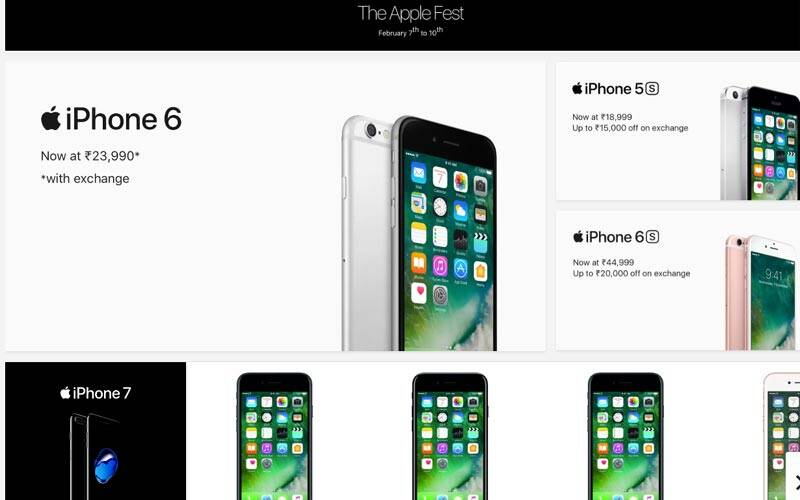 deals on iphone 6 apple iphone 6 at rs 23 990 with exchange on flipkart but 3441