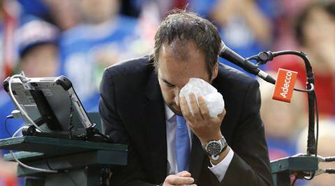 Injured Davis Cup umpire Arnaud Gabas undergoes surgery on fractured eye socket
