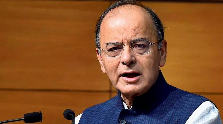 arun jaitley, finance minister, finance minister arun jaitley, abvp, ramjas, ramjas violance, abvp ramjas, DU protests, students protests ramjas, indian express, india news