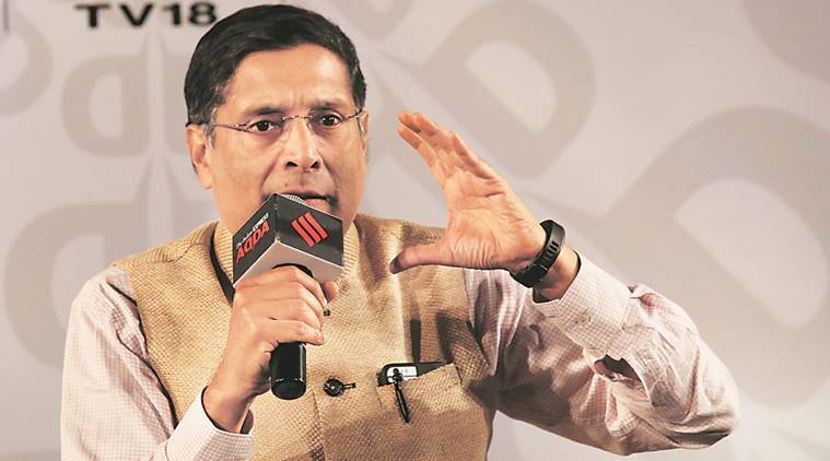 business news, Arvind Subramanian, Indian economy, Indian GDP growth, Finance Ministry, goods and services tax, indian express