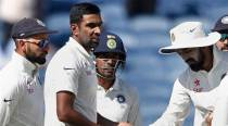 Ashwin becomes highest wicket-taker in home season