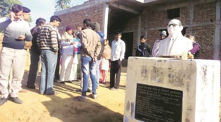 Damaged B R Ambedkar bust, Damaged B R Ambedkar bust found, Delhi news, India news, National news, India news, Latest news