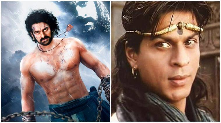 baahubali shah rukh khan, shah rukh khan, SRK, prabhas, ss rajamouli, baahubali makers, baahubali conclusion, shah rukh khan not in baahubali conclusion, shah rukh khan karan johar, karan johar, rana daggubati, prabhas shah rukh khan, shah rukh khan raees, raees, indian express news, entertainment news
