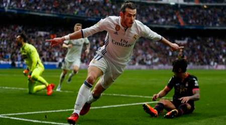 Bale scores as Real Madrid tighten grip on top spot