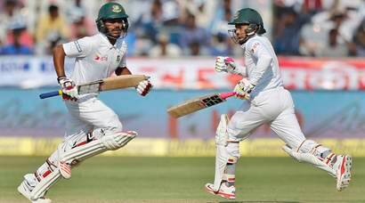 India vs Bangladesh, Day 3: Mushfiqur Rahim, Mehedi Hasan Miraz lead Bangladesh fightback