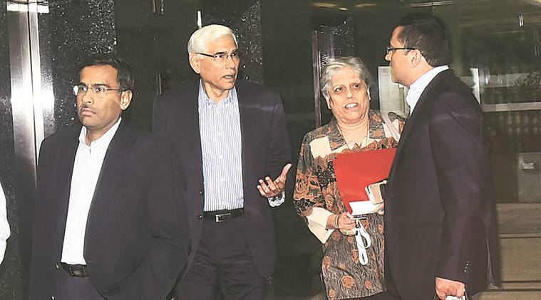 BCCI, BCCI committee, Vinod Rai, Diana Edulji, Vikram Limaye, Ramachandra Guha, BCCI new administrators, BCCI, Cricket news, Cricket