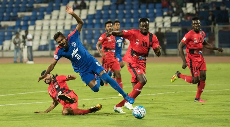 i league, bengaluru fc, bengaluru vs minerva punjab, i league table, football news, sports news