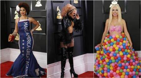 Grammy Awards 2017: Most bizarre dressed celebrities at the show