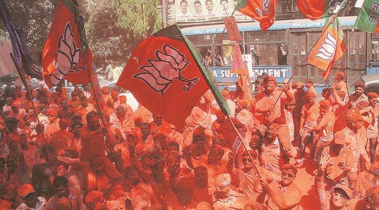 four ward panel, BJP, municipal corporation elections, india news, indian express news