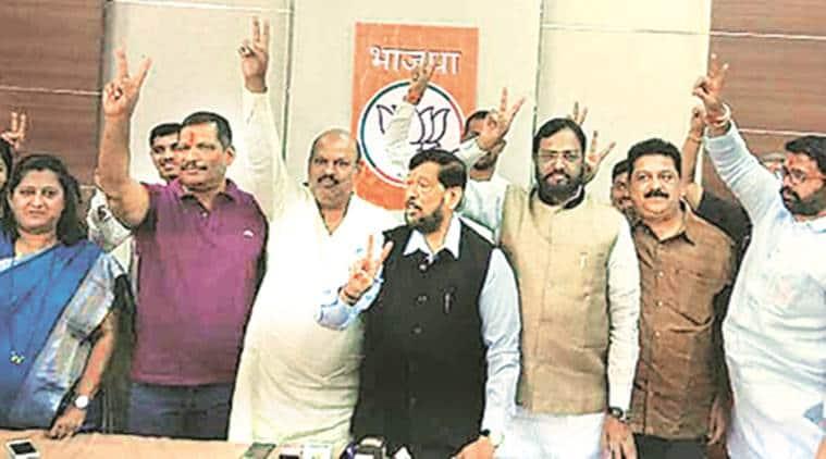 PCMC polls, Pimpri chinchwad civic polls, PCMC poll results, BJP, india news, indian express