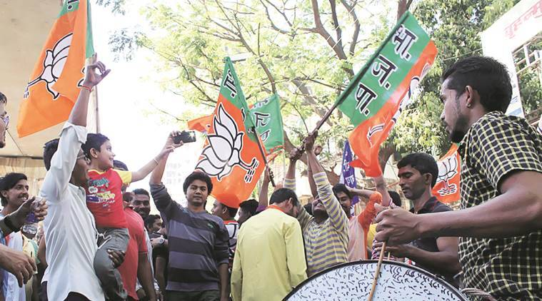 Maharashtra Civic Elections 2017, BJP, clean sweep, MNS, BJP victory, Maharashtra civic polls results, india news, indian express news