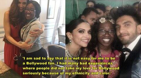 bollywood racism, black woman open letter bollywood racism, haiti nurse open letter bollywood, racism in bollywood, Fabienne Menoud, ranveer singh, deepika padukone, priyanka chopra, indian express, indian express news