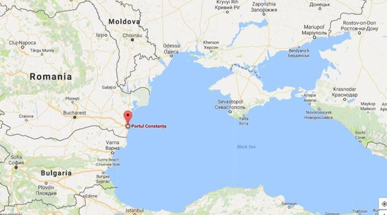 Romania US Troops Arrive In Black Sea Port To Bolster Defense - Romania in us map